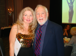 Adrienne Papp and Robert M. Young Award winner at the 2016 Press Academy, 2016