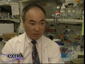 Dr. Wong Interviewed by EXTRA Photo Credit: EXTRA