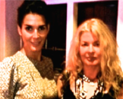 Angie Harmon, The Living Proof, with Adrienne Papp
