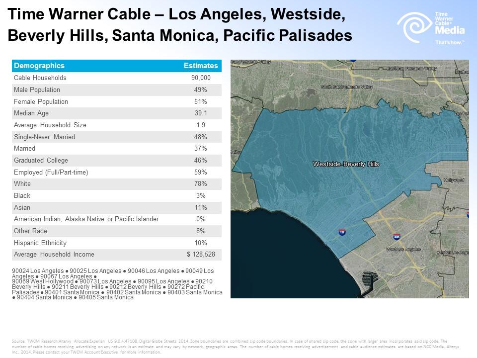 Time Warner Cable Westside-B. Hills zone 6-6-16